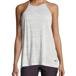 Nike Breathe T-Back Loose Training Performance L
